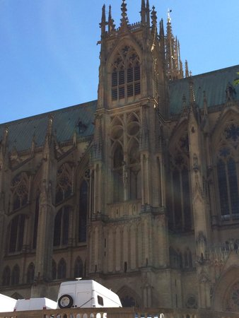 Metz Cathedral: The cathedral