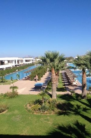 Sensimar Palazzo del Mare: View from the lobby balcony