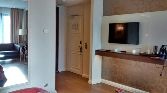 Mercure Moscow Paveletskaya: Privilege room view from bed