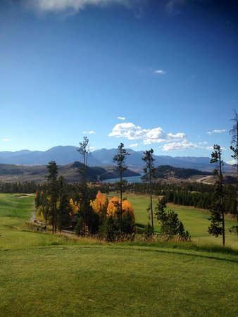Keystone Ski Area: Spectacular course view!