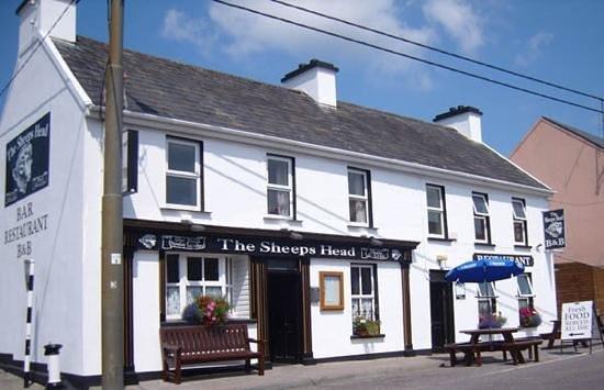 The Sheeps Head Inn: The sheep's head