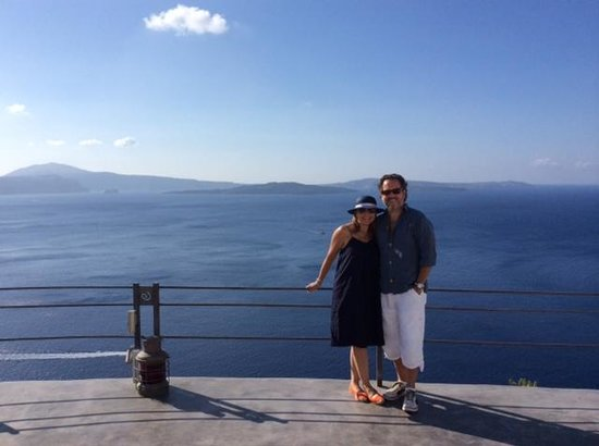 Antelope Travel Athens Day Tours: Dream view from the Andronis Boutique Hotel in Santorini