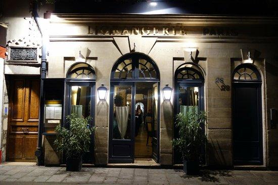L'Orangerie: お店の概観