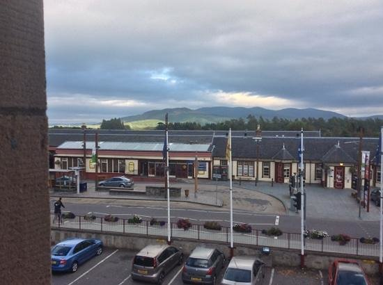 Cairngorm Hotel: view from my bedroom window - room 201