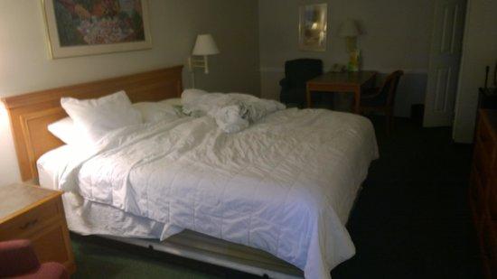 La Quinta Inn Bakersfield South: room at arival