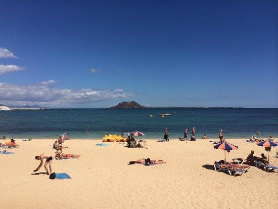 Alisios Playa: The beach