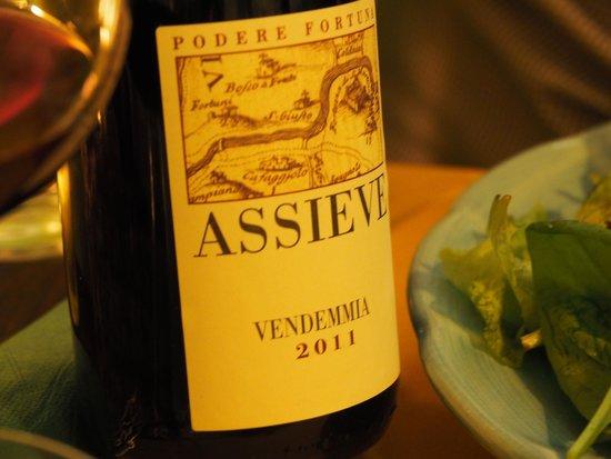 Cacio Vino Trallallà : Delicious local wine