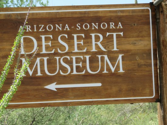 Arizona-Sonora Desert Museum: Name of the place.