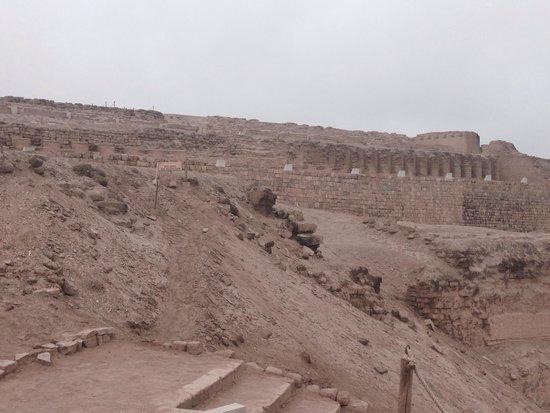 Pachacamac: Templo del Sol, un lugar mágico! Lástima que esté tan mal cuidado