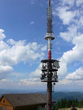 Saints Cyril and Methodius Chapel: wieża radiotelewizyjna