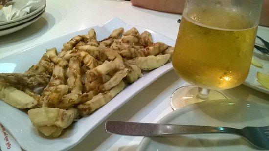 La Gorda te da de comer: Melenzane fritte al miele