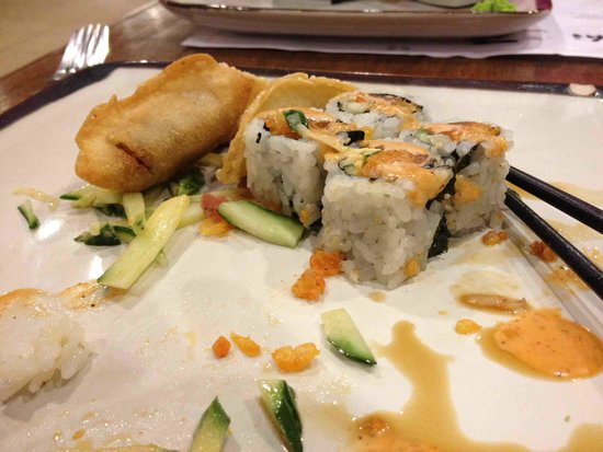 Dinner picture of umai sushi sudbury tripadvisor for Asian cuisine sudbury ontario