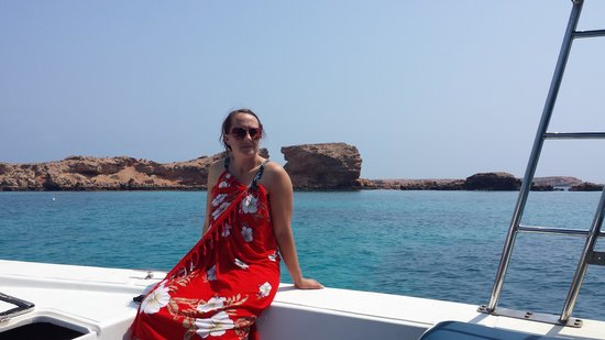 Omanta Scuba Diving Academy: on the dive boat