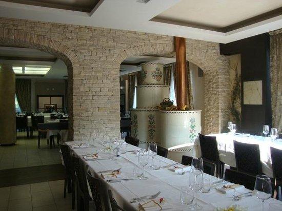 Hotel Restaurant Marcheno: Scorcio della sala da pranzo