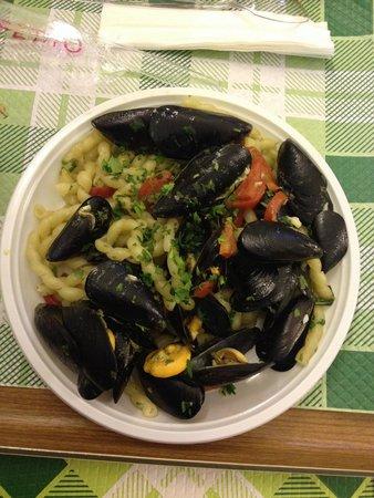 Il quadrifoglio : Busiate ai frutti di mare