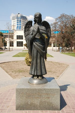 Statue of Guardian Angel