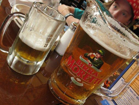 Via Napoli Ristorante e Pizzeria: Cerveja