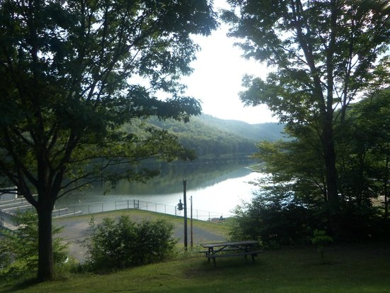 Cherry Springs State Park: Lyman Run State Park is at foot of mtn., Cherry Springs is at top