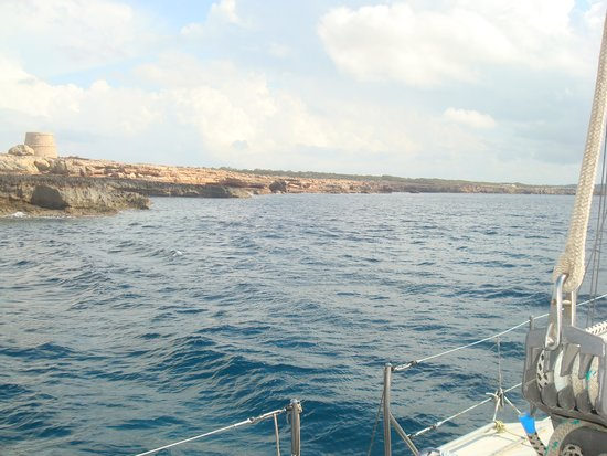 Oasis Sailing Cruises in Formentera : Sightseeing