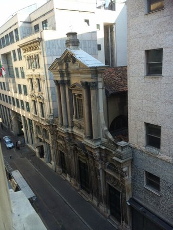 STRAFhotel | a Member of Design Hotels™ : View from room  Gelato cafe and McDonalds right down the street