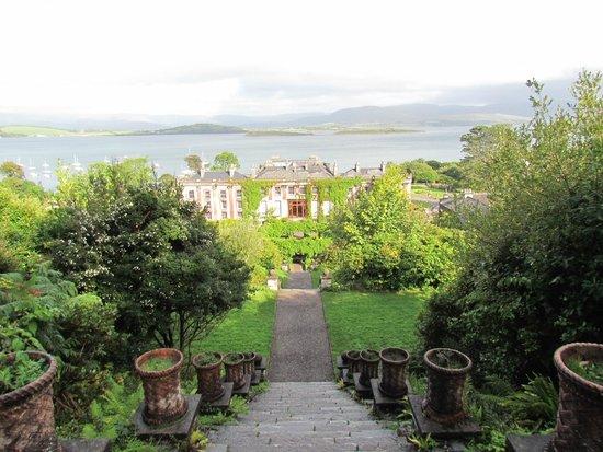 Bantry House & Garden : Panorama dalla scalinata