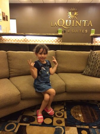 La Quinta Inn & Suites Houston Energy Corridor: en el lobby