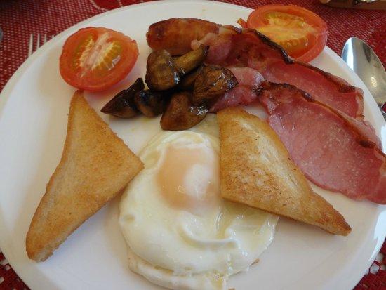 Heather Isle: the main breakfast