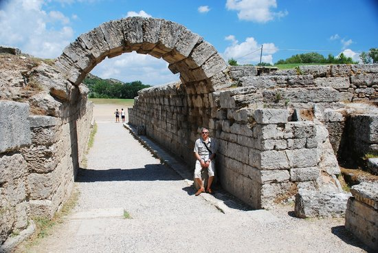Ancient Olympia: Entrance to Olympia Stadium
