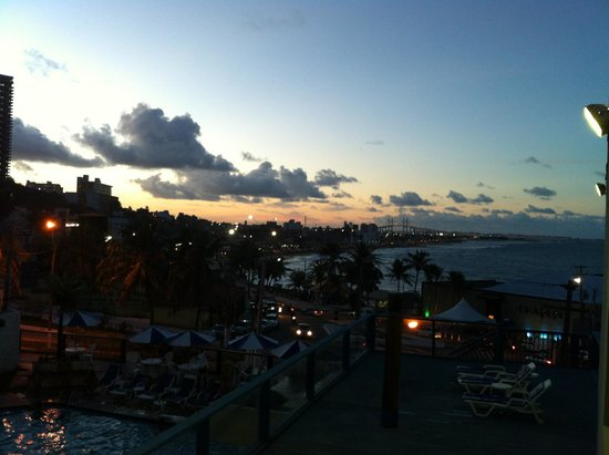 Natal Praia Hotel : Linda vista da suite