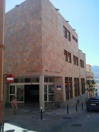 Museo y Parque Arqueologico Cueva Pintada : Entrada al Museo