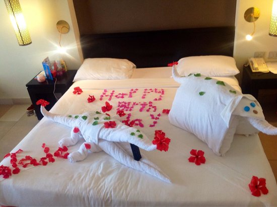 My birthday bed decoration Wonderful Picture of SENTIDO Reef