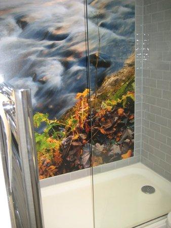 Mercure Edinburgh City - Princes Street Hotel: Shower
