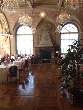 Grand Hotel Bagni Nuovi: Sala da pranzo/cena