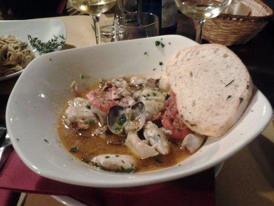 La Calanca Ristorante: Ottima zuppa di pesce