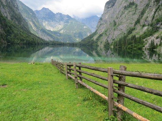 Königssee: In die berg, Ober-meer