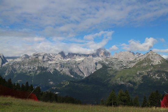 Hotel Piz Galin: Dalla cima Paganella