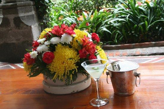 Restaurante Antiguo San Angel Inn: Margarita at San Angel Inn