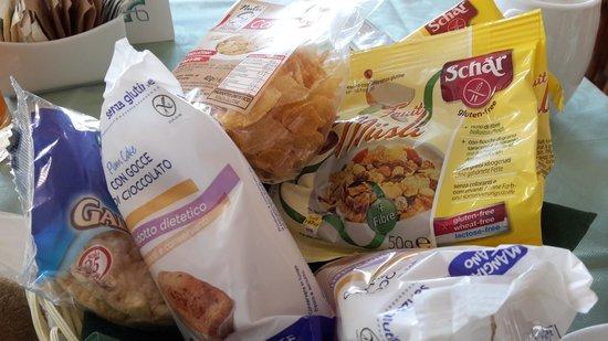 Hotel Biodola : colazione senza glutine