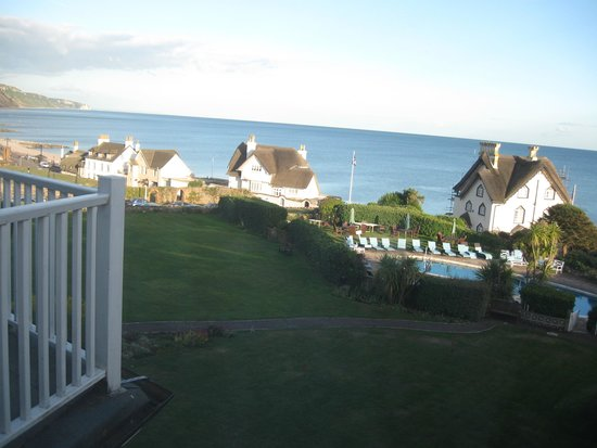 Sidmouth Harbour Hotel: View from Room 22