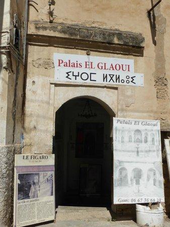 Glaoui Palace, Fez : Entrance