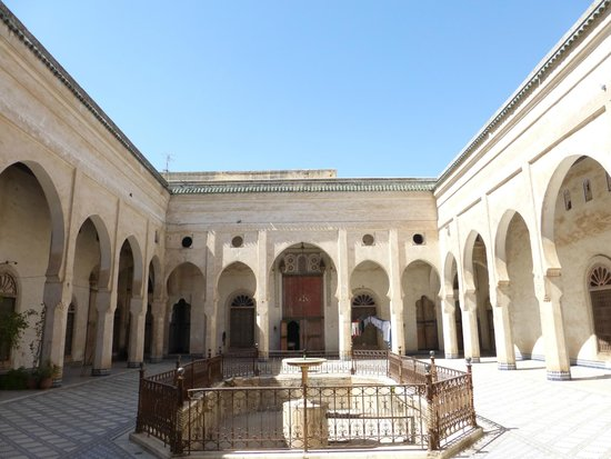 Glaoui Palace, Fez : Courtyard