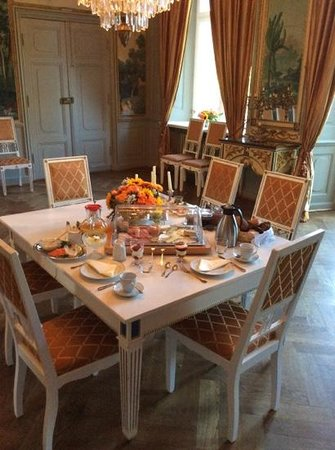 Herrenhaus Borghorst: Breakfast fit for the king and queen!