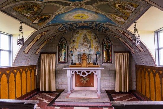 The Italian Chapel: Interior