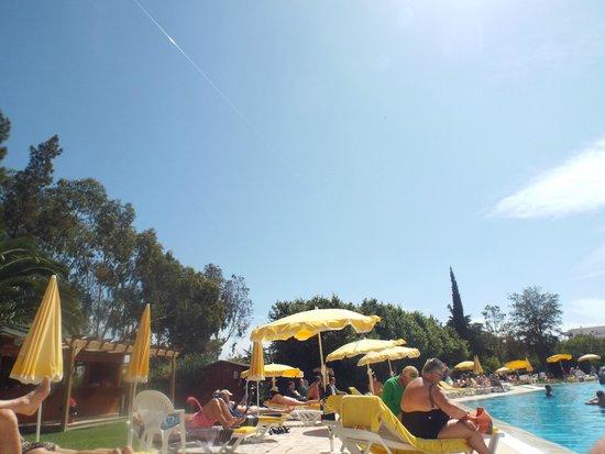 Vila Petra Aparthotel : Wonderful blue sky