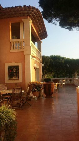 Hotel Martinengo : Terrasse du premier étage