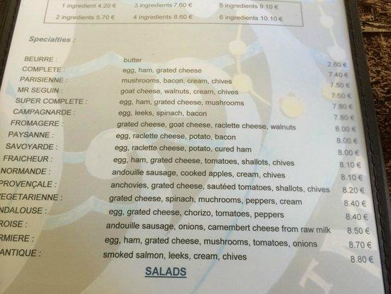 Restaurant Le Pre Sale Paris