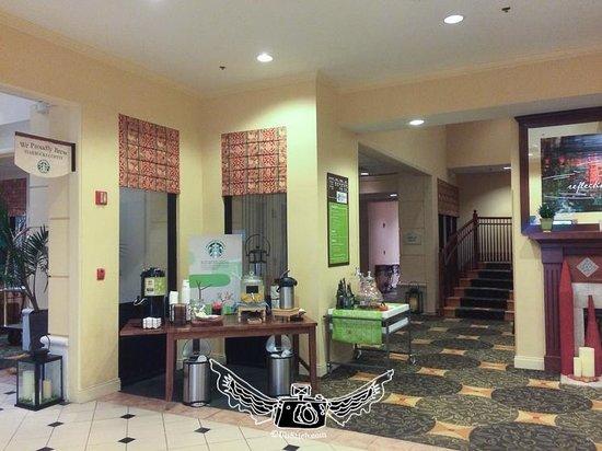 Hilton Garden Inn Jacksonville / Ponte Vedra : Lobby