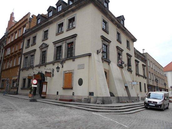 Castle Inn: la facciata