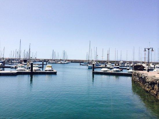 Marina Rubicón: Lovely view of the marina