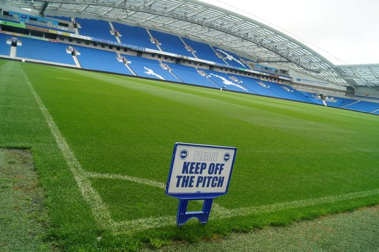 American Express Community Stadium: One of the best pitches I have seen
